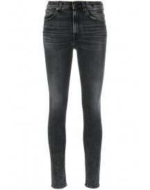R13 - High Rise Skinny Jeans - Women - Cotton/polyester/spandex/elastane - 27 afbeelding