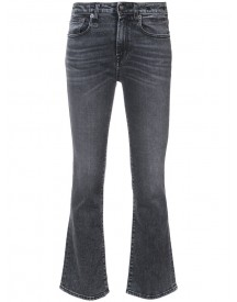 R13 - Kick Fit Jeans - Women - Cotton/spandex/elastane - 25 afbeelding