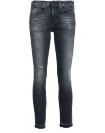 R13 - Skinny Cropped Jeans - Women - Cotton/polyester/spandex/elastane - 25 afbeelding