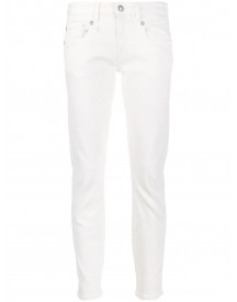 R13 Skinny Jeans - Wit afbeelding