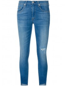 Rag & Bone - Cropped Jeans - Women - Cotton/polyurethane/cupro/rayon - 25 afbeelding