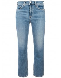 Rag & Bone /jean - Straight Cropped Jeans - Women - Cotton/polyurethane - 32 afbeelding