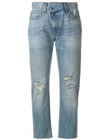 Rag & Bone /jean - Wicked Cropped Jeans - Women - Cotton - 24 afbeelding