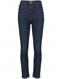 Re/done Cropped Jeans - Blauw afbeelding