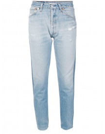 Re/done - Cropped Jeans - Women - Cotton - 25 afbeelding