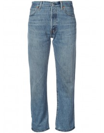 Re/done - Cropped Jeans - Women - Cotton - 27 afbeelding