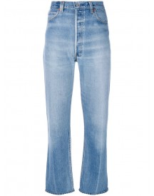 Re/done - Cropped Pants - Women - Cotton - 30 afbeelding