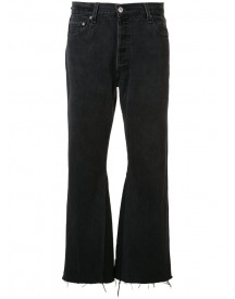 Re/done - Flared Cropped Jeans - Women - Cotton - 27 afbeelding