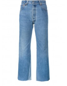 Re/done - 'leandra' Jeans - Women - Cotton/leather - 31 afbeelding