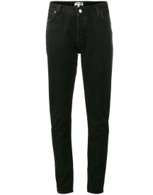 Re/done - Originals Black Mid Rise Skinny Jeans - Women - Cotton - 27 afbeelding