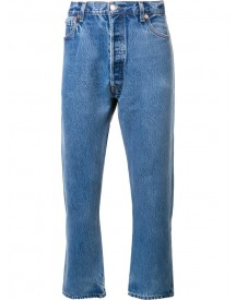 Re/done - Regular Jeans - Men - Cotton - 32 afbeelding