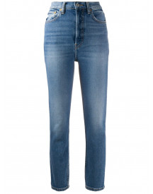Re/done Skinny Jeans - Blauw afbeelding