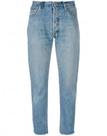 Re/done - Straight Jeans - Women - Cotton - 25 afbeelding