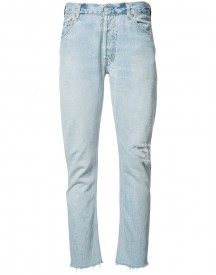 Re/done - Straight Jeans - Women - Cotton - 30 afbeelding