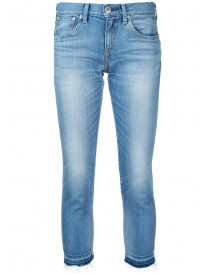 Red Card - Cropped Skinny Jeans - Women - Cotton/polyurethane - 25 afbeelding