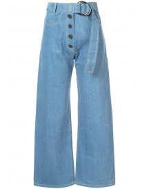 Rejina Pyo - Emily Cropped Jeans - Women - Cotton - 8 afbeelding