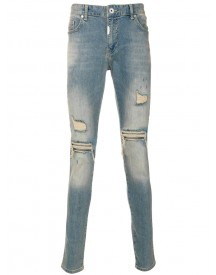 Represent - Distressed Skinny Jeans - Men - Cotton/spandex/elastane - 32 afbeelding