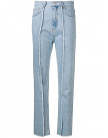Rokh Slim-fit Jeans - Blauw afbeelding