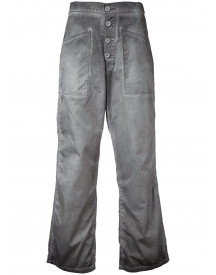 Rta Cropped Flare-jeans - Grijs afbeelding