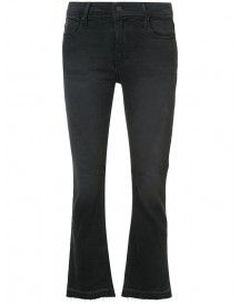 Rta - Cropped Flared Jeans - Women - Cotton/polyester/spandex/elastane - 24 afbeelding