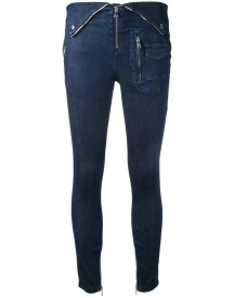 Rta - High Waisted Skinny Jeans - Women - Cotton/polyester/spandex/elastane - 28 afbeelding