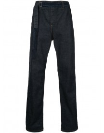 Sacai - Belted Jeans - Men - Cotton - 4 afbeelding