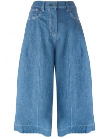 Sacai - Denim Culottes - Women - Cotton - 3 afbeelding