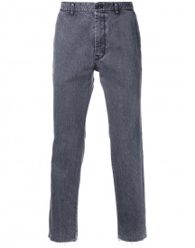 Sacai - Frayed Straight Leg Jeans - Men - Cotton - 4 afbeelding