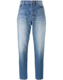 Saint Laurent - Boyfriend Jeans - Women - Cotton - 29 afbeelding