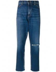 Saint Laurent - Classic Boyfriend Jeans - Women - Cotton - 29 afbeelding