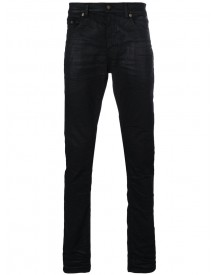 Saint Laurent - Coated Low Rise Jeans - Men - Cotton/spandex/elastane - 29 afbeelding