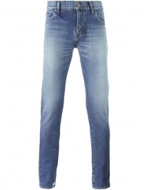 Saint Laurent - Low Waist Skinny Jeans - Men - Cotton - 34 afbeelding