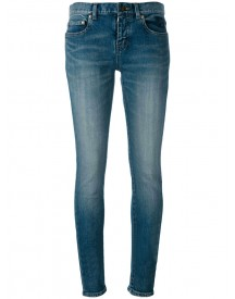 Saint Laurent - Skinny Jeans - Women - Cotton/spandex/elastane - 26 afbeelding
