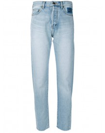 Saint Laurent - Tapered High-rise Jeans - Women - Cotton - 25 afbeelding