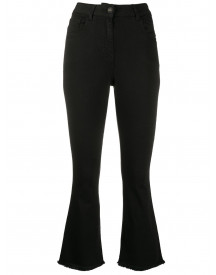 Semicouture Flared Jeans - Zwart afbeelding