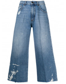 Semicouture High Waist Jeans - Blauw afbeelding