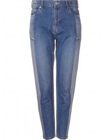 Serge De Blue - Two-tone Tapered Jeans - Women - Cotton - 36 afbeelding