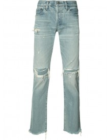 Simon Miller - Distressed Slim-fit Jeans - Men - Cotton - 29 afbeelding