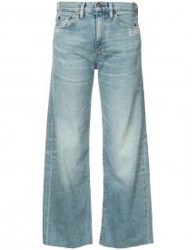 Simon Miller - Wide Leg Cropped Jeans - Women - Cotton - 27 afbeelding
