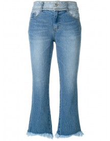 Sjyp - Cropped Flared Jeans - Women - Cotton - Xs afbeelding
