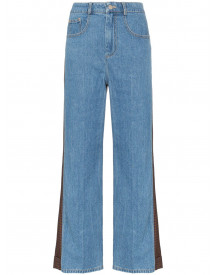 Sjyp Flared Jeans - Blauw afbeelding