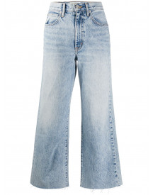 Slvrlake Cropped Jeans - Blauw afbeelding