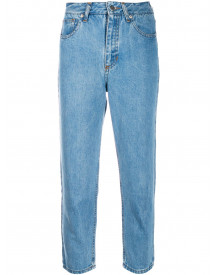 Société Anonyme Cropped Jeans - Blauw afbeelding