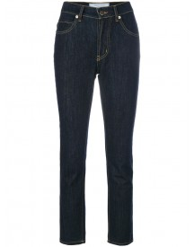 Société Anonyme - Cropped Skinny Jeans - Women - Cotton - Xs afbeelding