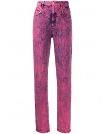 Stella Mccartney High Waist Jeans - Roze afbeelding
