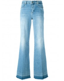 Stella Mccartney - 70's Flared Jeans - Women - Cotton/polyester/spandex/elastane - 25 afbeelding