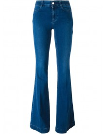 Stella Mccartney - Flared Jeans - Women - Cotton/polyester/spandex/elastane - 32 afbeelding