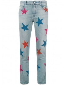 Stella Mccartney - Star Boyfriend Jeans - Women - Cotton/spandex/elastane - 30 afbeelding