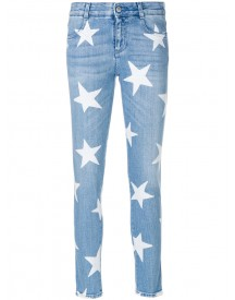 Stella Mccartney - Star Print Skinny Jeans - Women - Cotton/polyester - 29 afbeelding