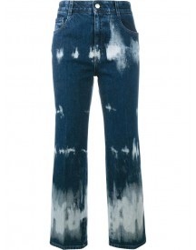 Stella Mccartney - Tie-dye Cropped Jeans - Women - Cotton/spandex/elastane - 24 afbeelding